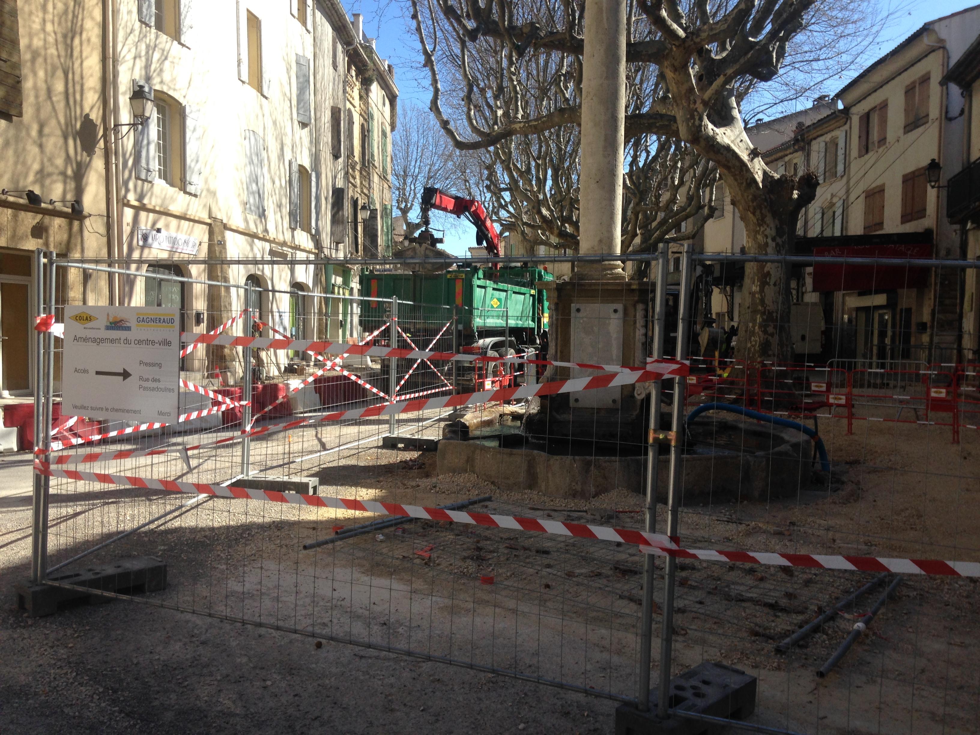 Centre ville : les commerçants inquiets après les travaux