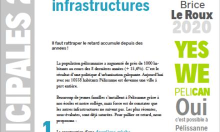 «Mettre à niveau les infrastructures», la lettre de Décembre arrive !