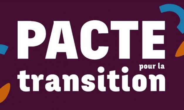 Réunir Pélissanne signe le pacte pour la transition